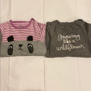 Cat and Jack baby romper bundle